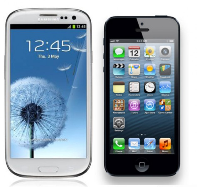 Test de chutes de l'iPhone 5 contre… le Galaxy S3